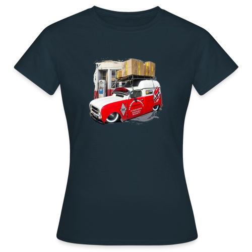 R4 4L F4 vehicules-anciens.fr - T-shirt Femme