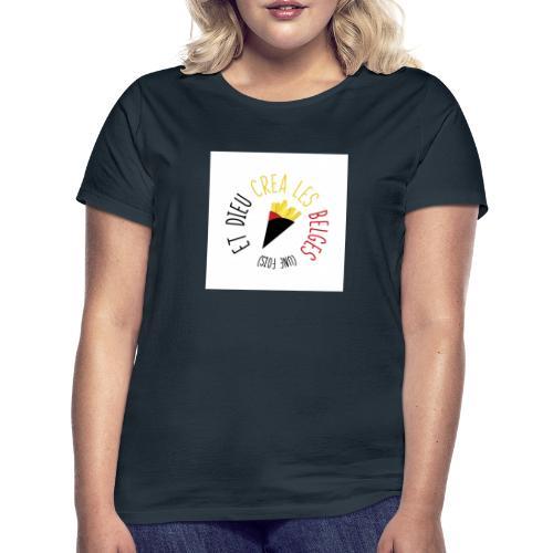 FRITES3 - T-shirt Femme