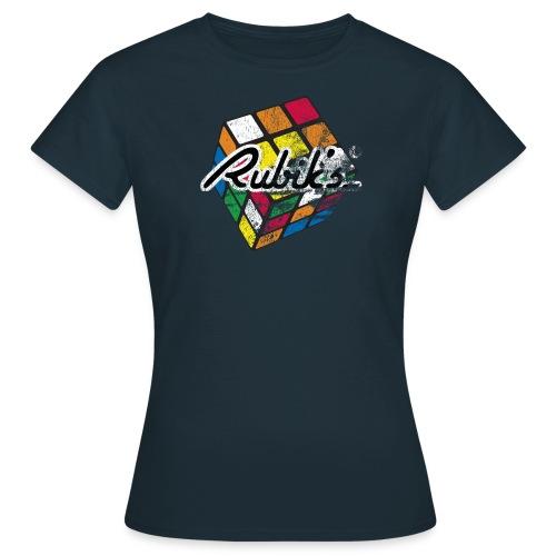 Rubik's Cube Colourful Retro Magic Cube - T-shirt dam