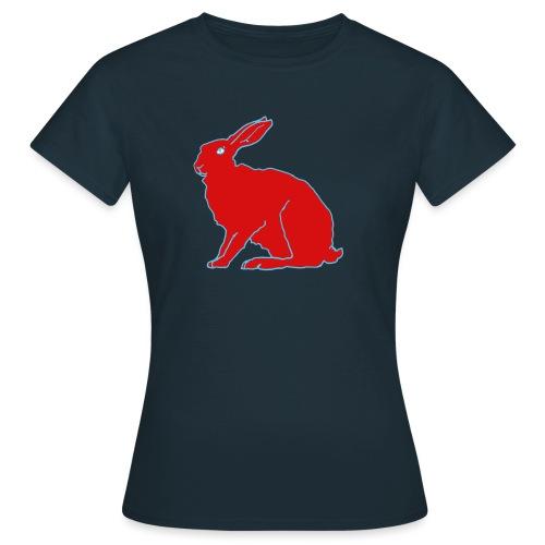 Roter Hase - Frauen T-Shirt