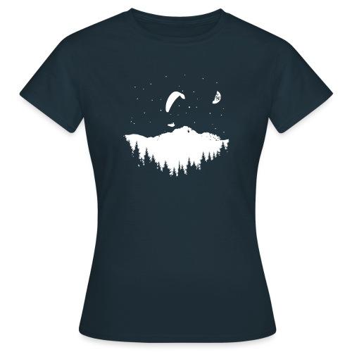 Night Paragliding - Frauen T-Shirt