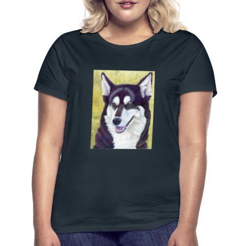 Siberian husky - Dame-T-shirt