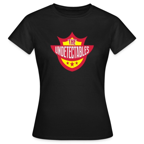 Undetectables voorkant - Vrouwen T-shirt