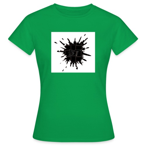Blacktuber Splash Logo - Vrouwen T-shirt