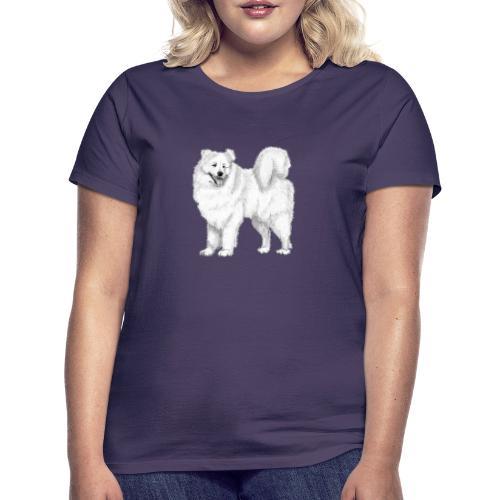 samoyed - Dame-T-shirt