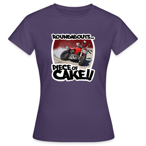 Ducati Monster Skidding - Camiseta mujer