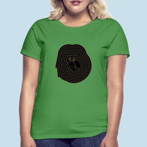 katzen spirale 6 - Frauen T-Shirt