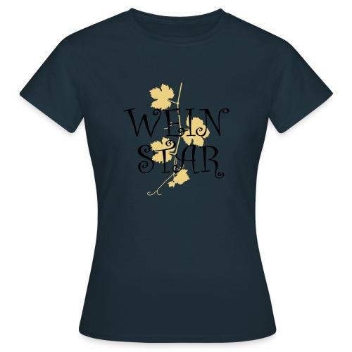 wein star - Frauen T-Shirt