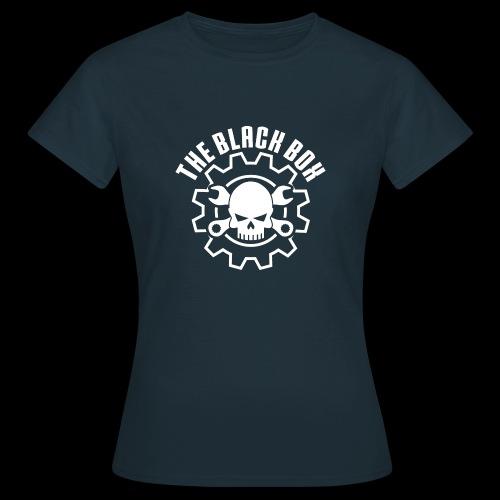 Black box bianco - Maglietta da donna