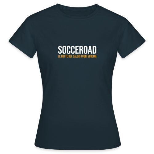 SOCCEROAD le rotte del calcio fuori schema - Maglietta da donna