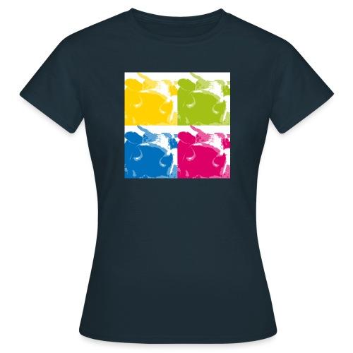4 Kühe - Frauen T-Shirt