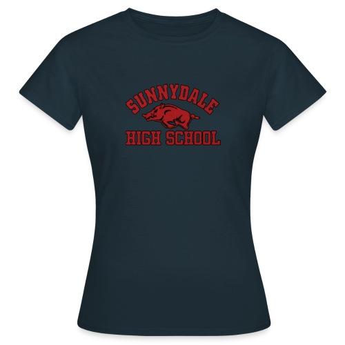 Sunnydale High School logo merch - Vrouwen T-shirt