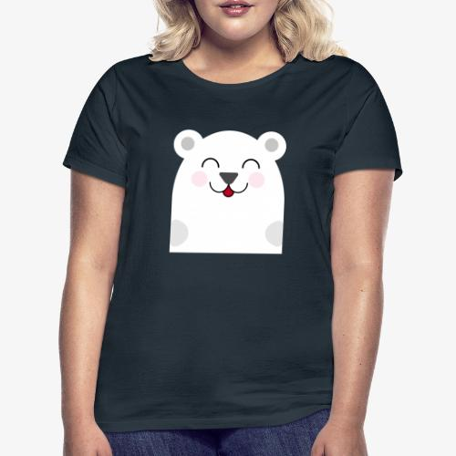 Oso kawaii - Camiseta mujer