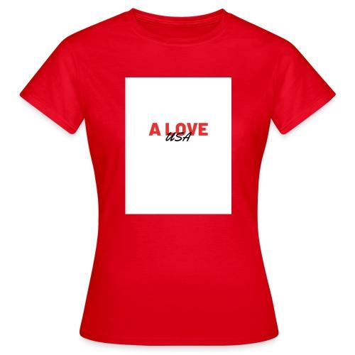 a love usa - T-shirt Femme