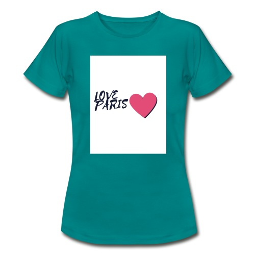 love paris 2 - T-shirt Femme