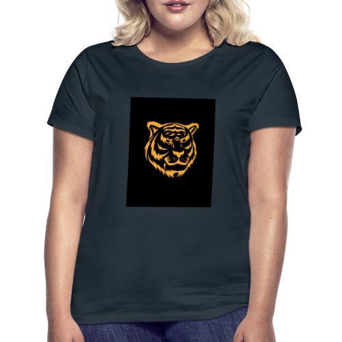 gold tiger - Camiseta mujer