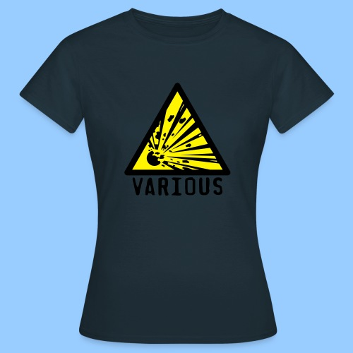 VariousExplosions Triangle (2 colour) - Women's T-Shirt