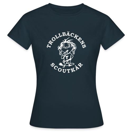 Trollbäckens Scoutkår - T-shirt dam