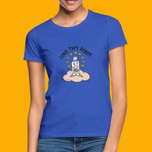 Dat Robot: Love Thy Robot Buddha Light - Vrouwen T-shirt