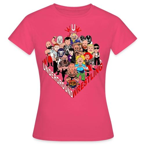 comics-wrestler - Frauen T-Shirt