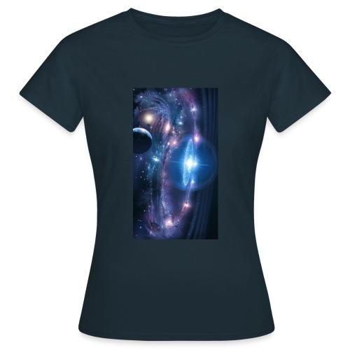 Die Tiefen des Weltalls - Frauen T-Shirt