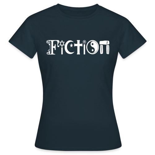 Fiction weiss - Frauen T-Shirt