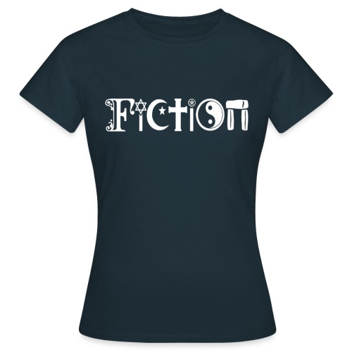 Fiction weiss - Frauen T-Shirt