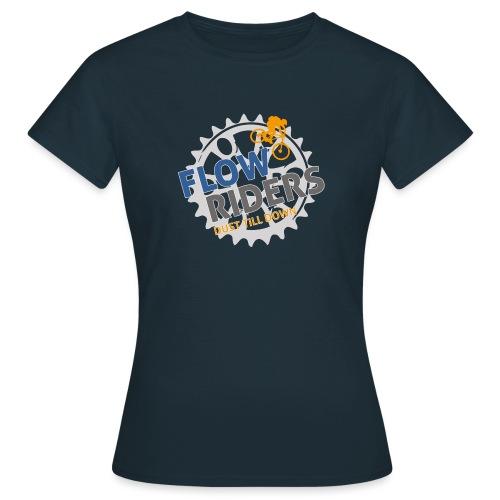 FLOWRIDERS - dust till down - Frauen T-Shirt