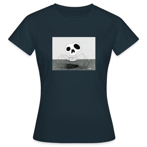skull spider - T-shirt dam