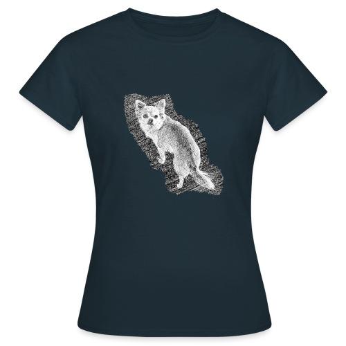 Chihuahua gezeichnet - Frauen T-Shirt
