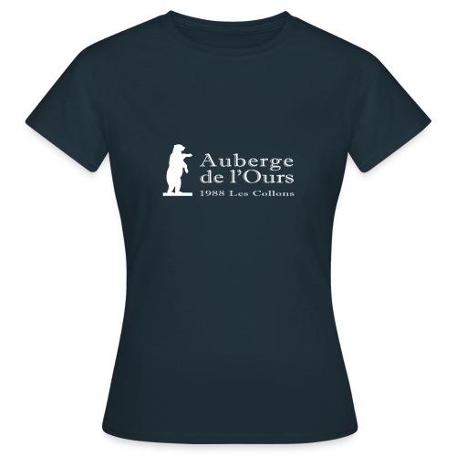 Auberge Logo - T-shirt Femme