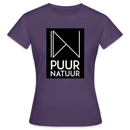 Logo puur natuur negatief - Vrouwen T-shirt