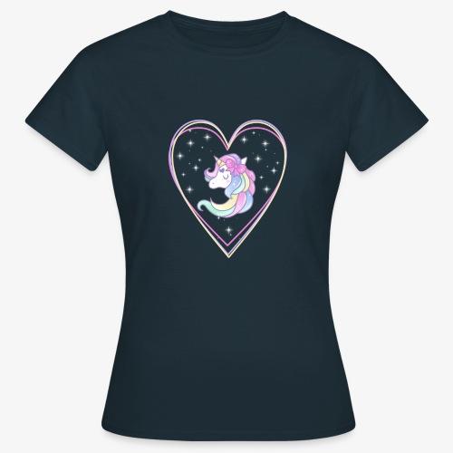 Unicorn - Maglietta da donna