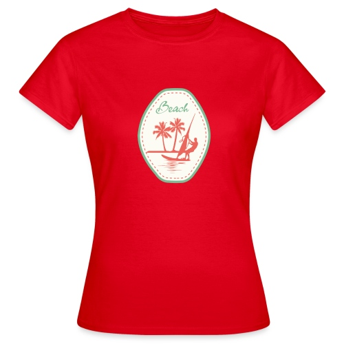 Beach - Women's T-Shirt