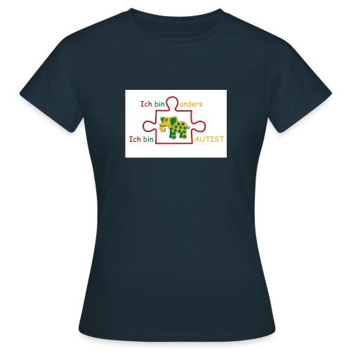 autist jpg - Frauen T-Shirt