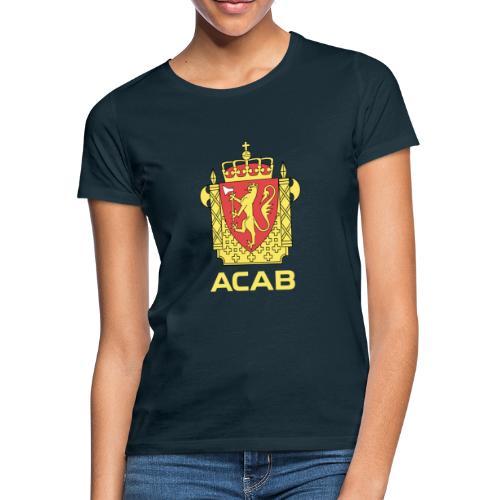 ACAB Logo - T-skjorte for kvinner
