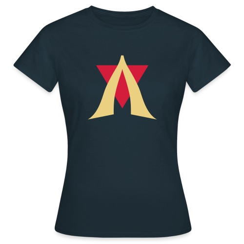 V Logo Jimmy Casket - Women's T-Shirt