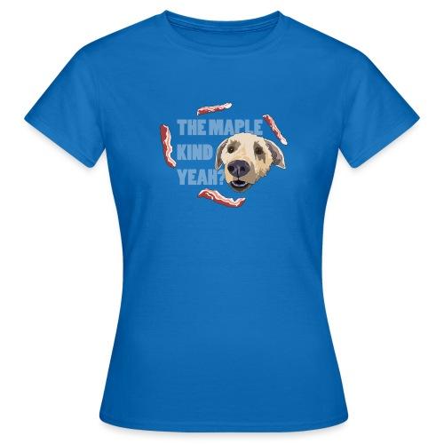dogmaple4 - Women's T-Shirt