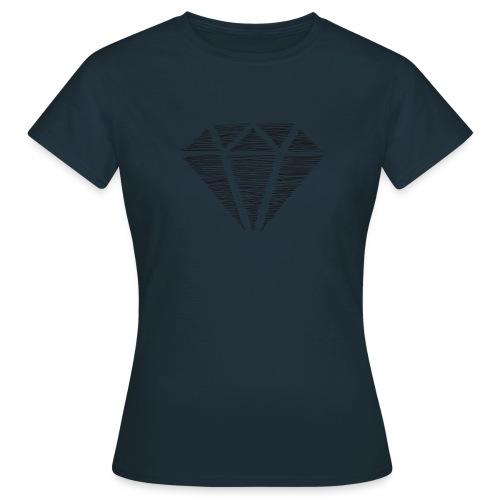 Diamante - Camiseta mujer