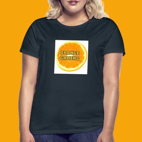 Orange_Logo_White - Women's T-Shirt