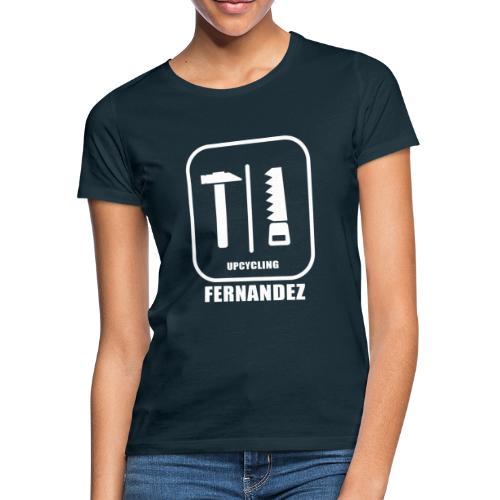 Logo Weiss Schwarz - Frauen T-Shirt