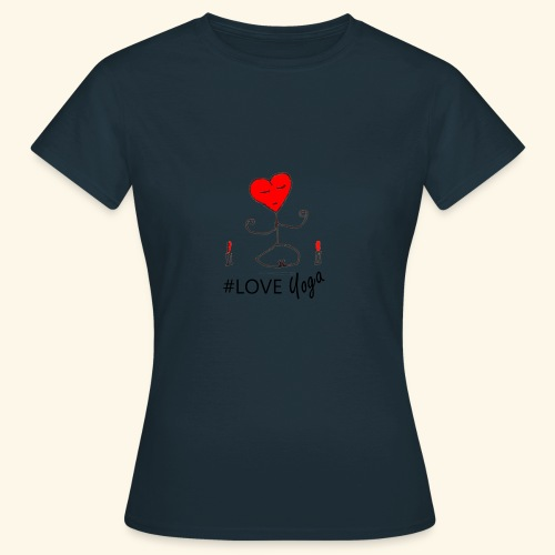 loveyoga - Maglietta da donna