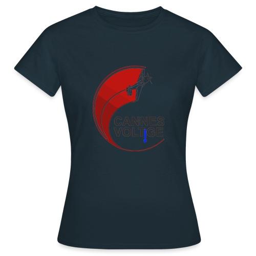vect last logo cannes - T-shirt Femme