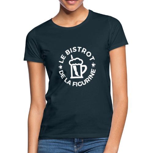 Logo blanc classique - T-shirt Femme