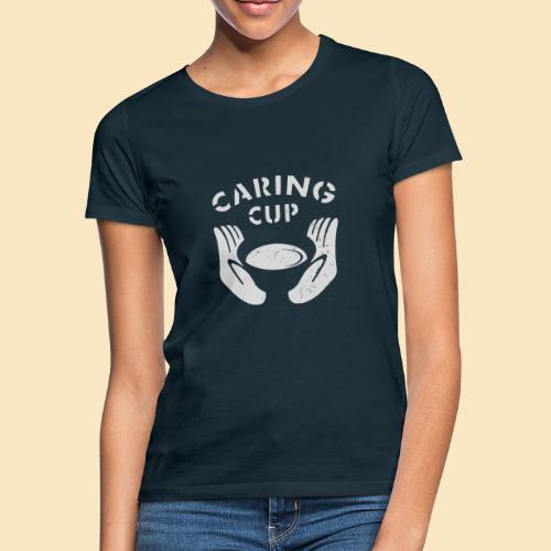 Caring Cup hellgrau - Frauen T-Shirt
