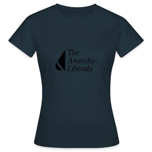 The Anarcho-Liberals: Banner - Women's T-Shirt