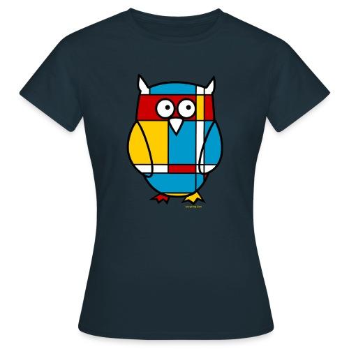 Mondrian Owl - Women's T-Shirt