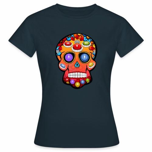 Calavera arcade - Camiseta mujer