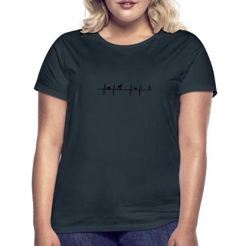 heartbeat hunting - T-shirt dam