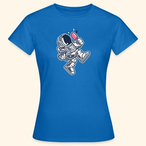 Eiscreme Sommer Astronaut - Frauen T-Shirt